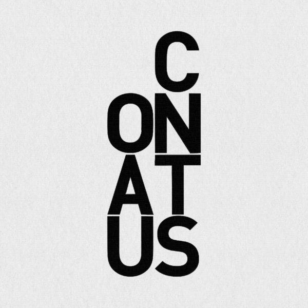 Ultrapulp Alpha, conatus. Estampe typographique contemporaine originale signée.La série Alpha emprunte ses sources à la littérature, à l'histoire, au monde des affaires et de l'entreprise ou encore au langage de la pop culture. Cette édition limitée tiré à partsur toile par l'artiste, utilise une grille et l'emploi d'intervalles inattendus entre les mots et les lettres pour créer une rupture de sens.